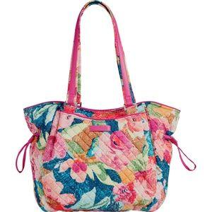 Vera Bradley Iconic Glenna Satchel shoulder Bag